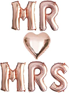 Best jumbo mr and mrs balloons Reviews