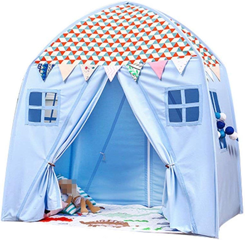 JHHXW Kinderzimmer Spielzeugzimmer Leseecke Praktisches Spielhaus Requisiten Innen- und Auenzelt Tragbares Kinderspielhaus