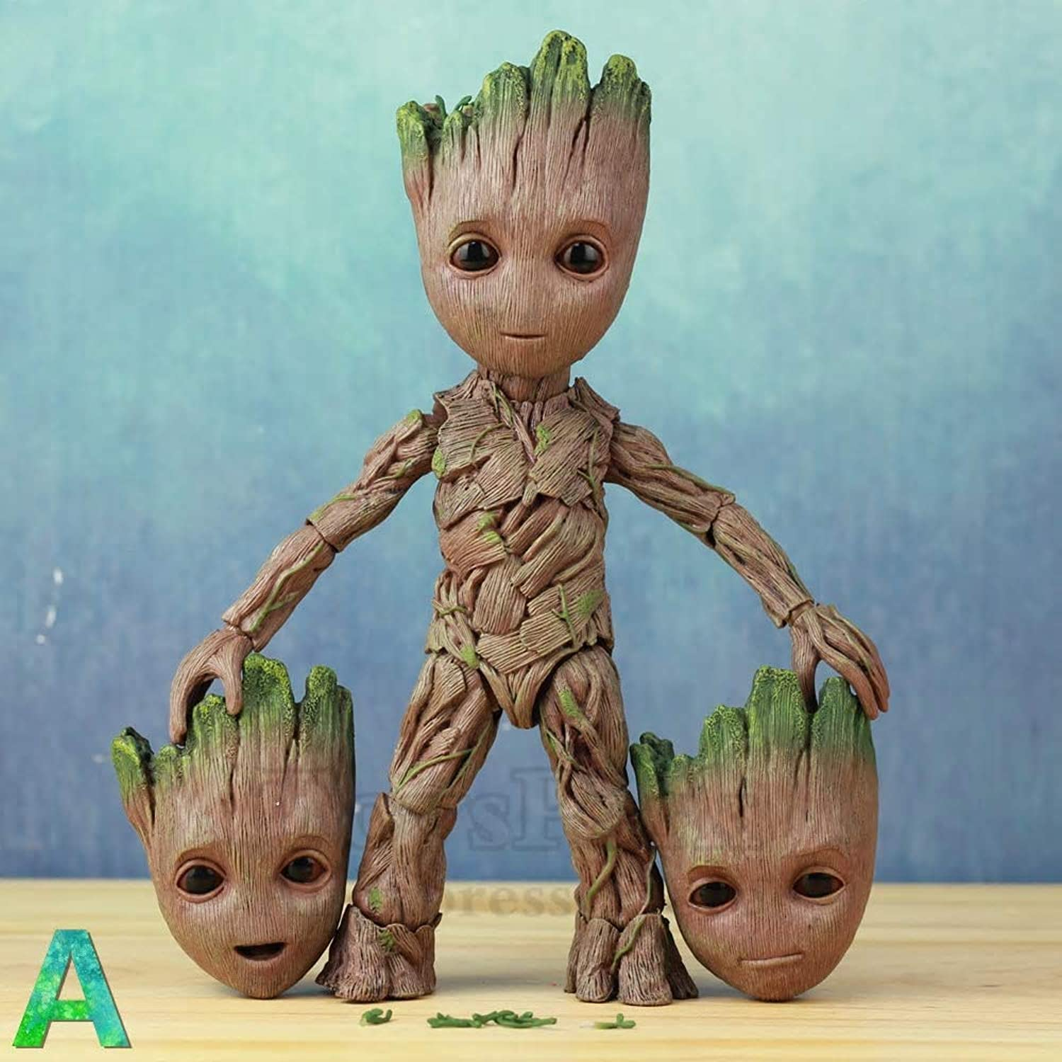 Minicars Groot Young articulated 25 cm redating eyes Figurine Guardians of the Galaxy (P1)