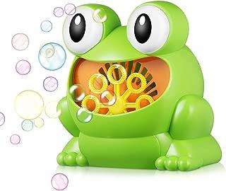 Burbuja electr/ónica Segadora Ventilador de la Burbuja M/áquina Mejores Juguetes de la Burbuja y Regalos for ni/ños y ni/ñas YYZ M/áquina de Burbujas
