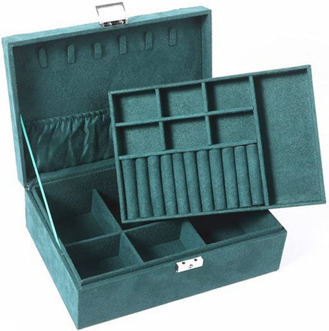 Popular product YIJIN Year-end gift Very Fashionable and Large-Capacity Jewelry Boxes Earring