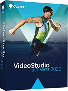 Corel VideoStudio Ultimate 2020 - Video & Movie Editing Software - Slideshow Maker, Screen Recorder, DVD Burner - Premium Effects from NewBlueFX, Boris FX, proDAD [PC Disc]