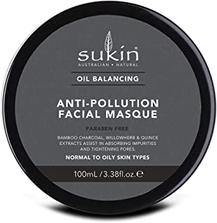 Sukin Oil Balancing Anti-Pollution Facial Masque, 100ml
