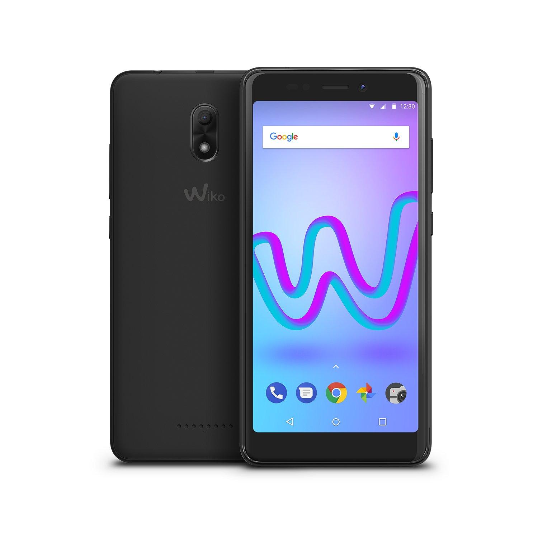 """Wiko Jerry3 - Smartphone de 5.45"""" (pantalla panorámica, Dual SIM, 16 GB de ROM, Quad Core, 1 GB de RAM, cámaras 5MP, Android 8 GO Edition, con carcasa) color gris: Wiko: Amazon.es: Electrónica"""