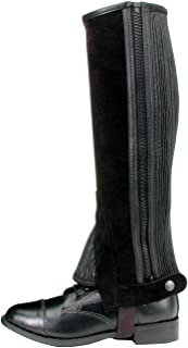 Tough 1 Suede Leather Half Chaps