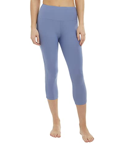Jockey Active Mini Peekaboo Mesh Crop Leggings Women