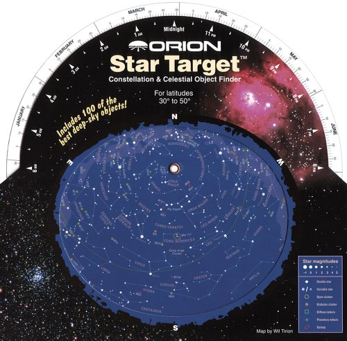 Planisferio Celeste Orion, Color Negro (Electrónica)