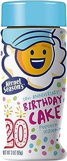 Kernel Season's Birthday Cake Flavored Popcorn Seasoning, Birthday Cake, 3 Ounce,Pack of 6