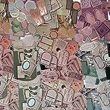 150 Hojas Vintage Stickers Scrapbooking, Autoadhesivo Vintage Creatividad DIY Manualidades Decoración Scrapbooking, Scrapbooking Papeles Vintage, Para Decorativas Regalo, Diario, Cartas, Sobres, etc