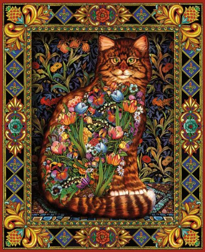 1000 piece puzzles of cats - 1