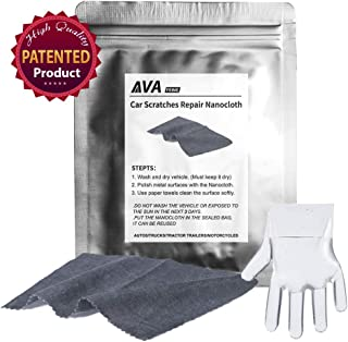 AVA Prime Car Scratch Remover and Paint Polish Cloth/Monster Car Scratch Removal,Nano-tech Better Abrasive Compound for car Paint Restoration.Light Scuffs Polishing Kit (1 Pack)