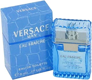 Eau Fraiche Miniture by Versace for Men Eau de Toilette 5ml