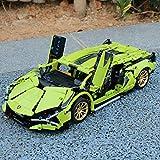 YYDE Juguetes de ensamblaje, Coche Deportivo técnico para Lamborghini, 1254 Piezas Technic Supercar Modelo Conjunto de Edificios Compatible con la técnica Lego