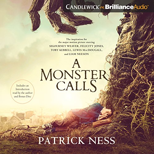 A Monster Calls audiobook cover art