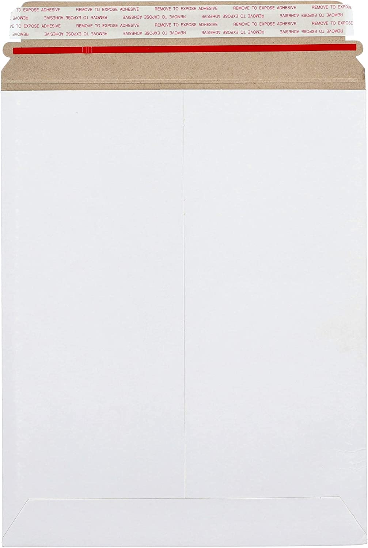 PSBM Virginia Beach Mall Rigid latest Mailers 13x18 Inch 100 Flat Stay Pack Kraft White