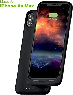 Mophie 401002410 Juice Pack Air - Wireless Charging - Protective Battery Pack Case for Apple iPhone Xs Max - Black