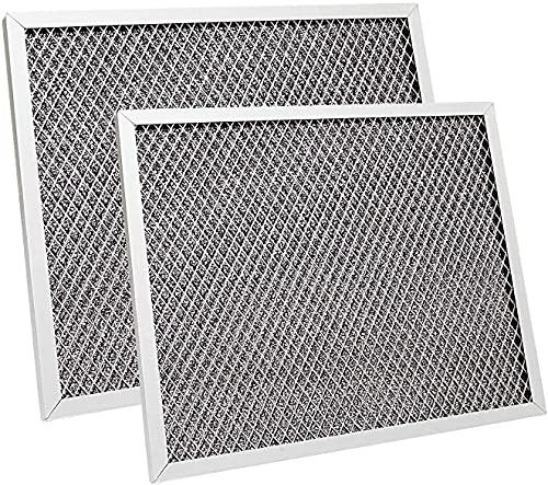 Aoheke (21,9 x 26,7 x 10,9 cm) Ersatz-Filter-Serie für Dunstabzugshaube 97007696, kompatibel mit Broan, Kenmore, Maytag (2 Stück)