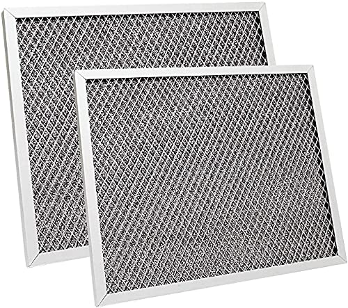Aoheke (8 3/4' X 10 1/2' X 3/8') Replacement Range Hood FilterKitchen Grease Filter 97007696 Compatible with Broan, Kenmore, Maytag (2Pack)