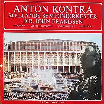 Anton Kontra Play Violin Concertos - The Tivoli Concert Hall Orchestra