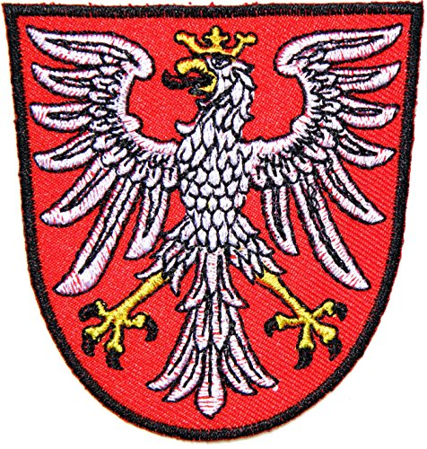 German Germany Eagle Deutschland Shield Logo Racing Biker Army Military Jacket Patch Sew Iron on Embroidered Badge Custom