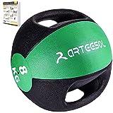 arteesol Balones medicinales, 1, 2, 3, 4, 5, 6, 7, 8, 9, 10 kg Balones de Peso Muerto Grip Entrenamiento de Fuerza y acondicionamiento, Cardio y Core