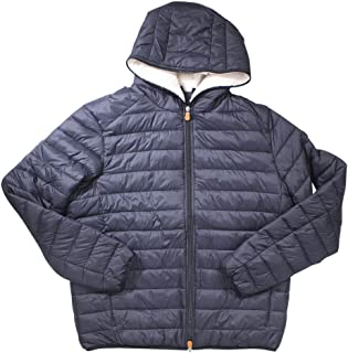 Save The Duck Mens Basic Hooded Jacket (Sherpa Lined)