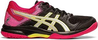 Gel Rocket 9 Womens Indoor Court Shoe (Black/Silver) (6.5)