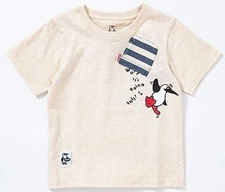 [チャムス] Kid's Booby Hang On T-Shirt キッズ ブービー ハングオン Tシャツ CH21-1095 トップス 半袖