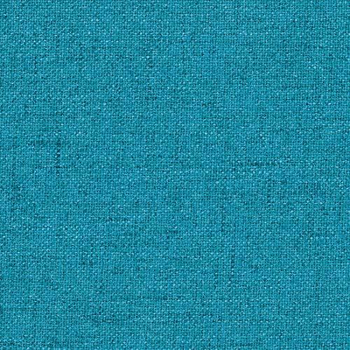 Teker Meriva Polsterstoff Möbelstoff Meterware - z.B. Stoff für Stühle oder Eckbank Bezug - Türkis-Blau