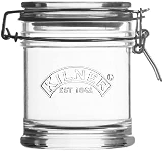 Kilner Signature Clip Top Glass Jar, 15-Fluid Ounces