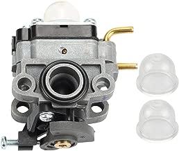 Hilom Carburetor Carb with Primer Bulb for Ryobi RY252CS RY253SS RY251PH RY254BC Models 2 Cycle 25cc Gas String Trimmer Replace # 75306258A
