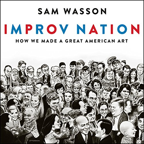 Improv Nation audiobook cover art