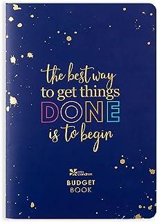 Erin Condren Designer Petite Planner - Financial Planner/Budget Planner Organizer Book with Debt Tracking, Spending Tracking, Functional Stickers & Quote Sheet