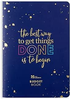 Erin Condren Designer Petite Planner - Financial Planner/Budget Planner Organizer Book with Debt Tracking, Stickers & Quote Sheet