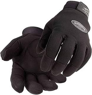BLACK STALLION Tool Handz PLUS Reinforced Snug-Fitting Gloves - Synthetic - LARGE