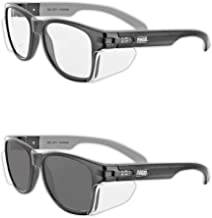 Magid Glove & Safety Iconic Y50 Design Series Safety Glasses with Side Shields..