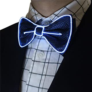 Light Up Men's LED Bow Tie, Party Costume Accessory