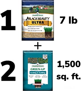 Black Beauty Ultra 7 lb. + (2) 1,500 sq. ft. Green-Up Seed & Sod Starter