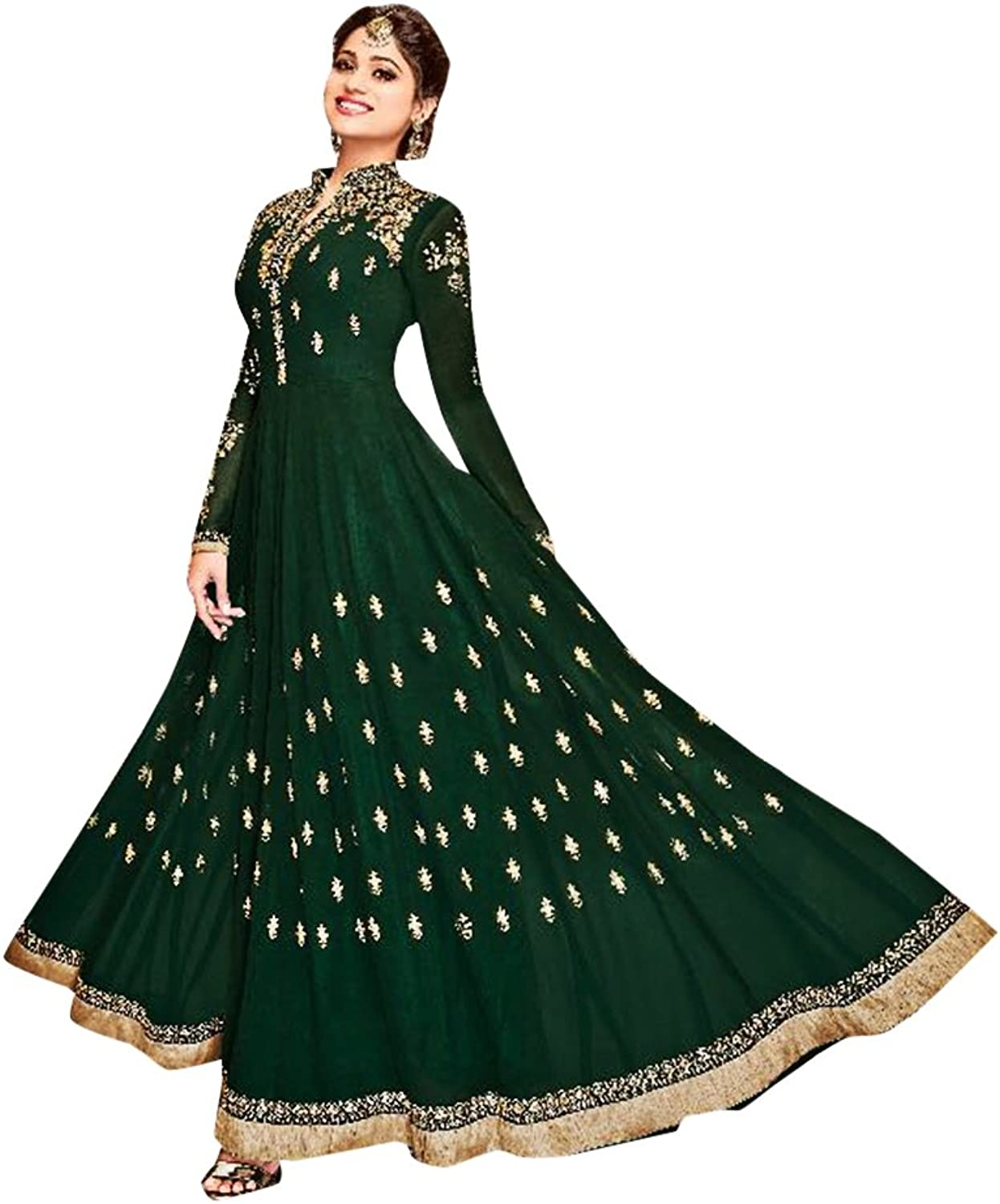 Bollywood Collection Anarkali Dresses for women Salwar Kameez Ceremony Wedding 910 4