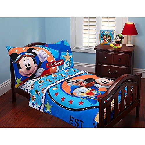 Disney Baby Mickey Mouse Toddler Bed Set