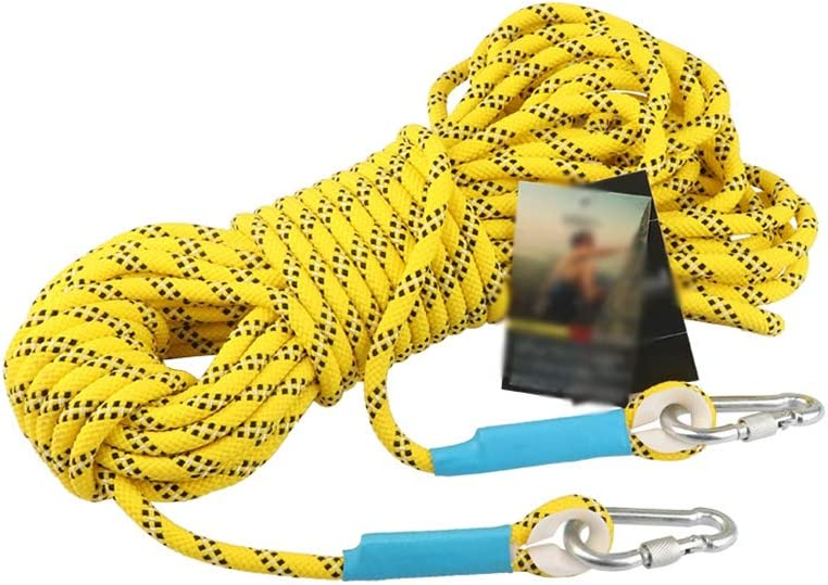 ZHWNGXO Static Rope 8mm Dry Ranking integrated 1st place Clothes Large discharge sale Easy Knot Yell to Soft