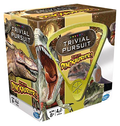 Trivial Pursuit Dinosaurier - Der große Frage-und-Antwort-Spaß für eine lustige Spielrunde mit der ganzen Familie! (Deutsch)