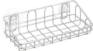 和平フレイズ たわしラック ワイヤー ステンレス 吸盤式 水はけの良いワイヤー材 SUIグート SUI-6066
