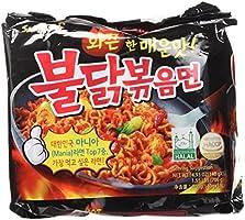 Samyang Ramen Spicy Chicken Roasted Noodles (Pack of 5) by Samyang