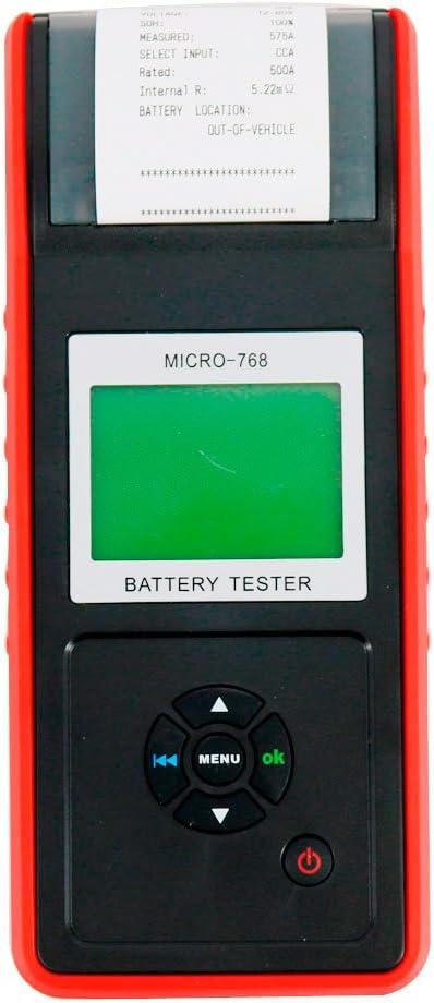 Graigar Car Battery Tester with Printer MICRO-768A Auto Battery Tester