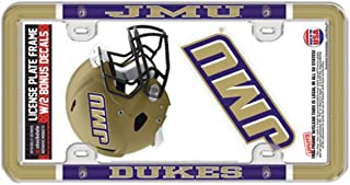 WinCraft James Madison University JMU Dukes License Plate Frame and 2 Decals