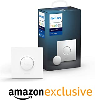 Philips Hue Interruptor Smart Button, con Bluetooth y Compatible con Alexa y Google Home