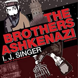 The Brothers Ashkenazi audiobook cover art