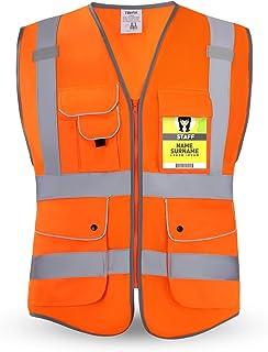 HPHST Multi-Pocket Reflective Safety Vest