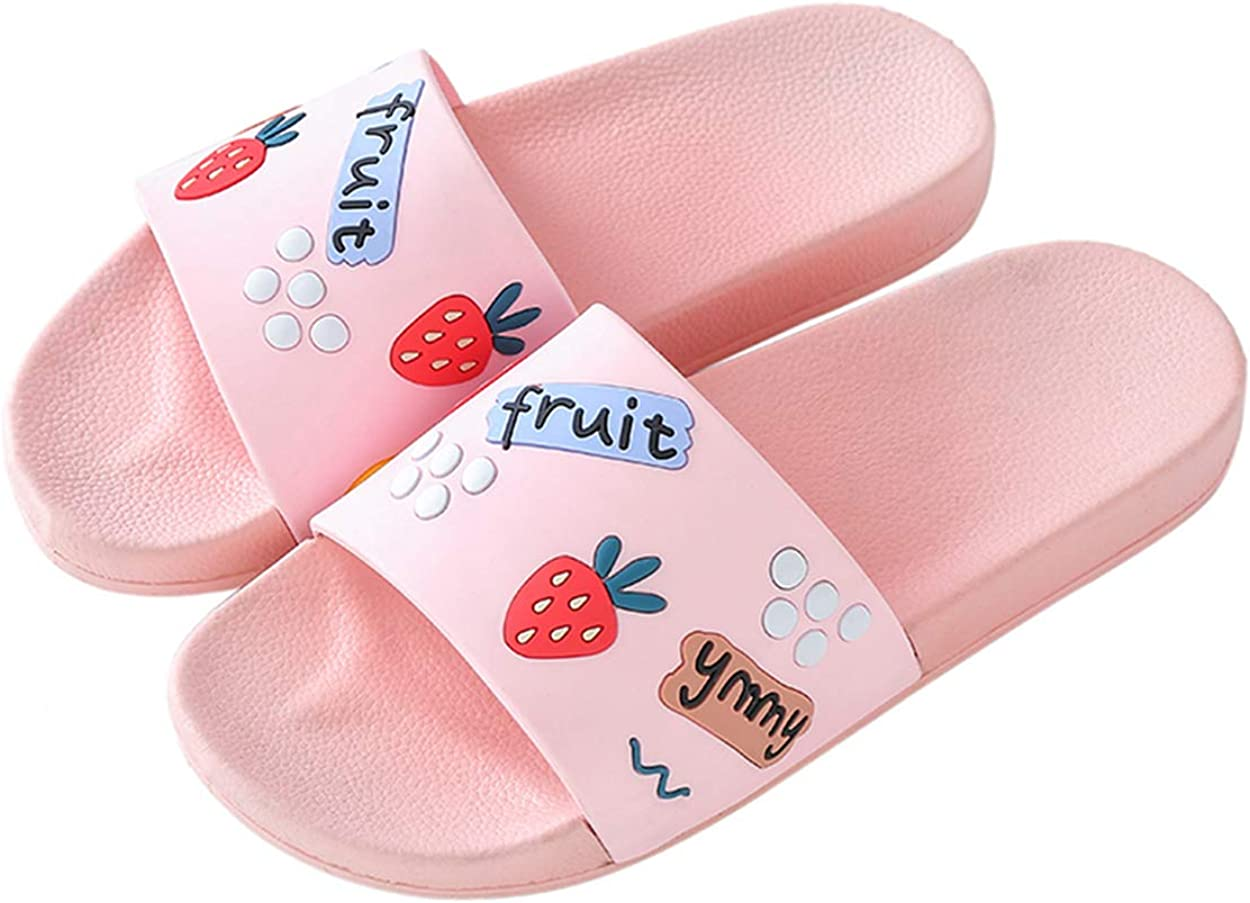 xsby Women's and Men's Cool Shower Slide Open Toe Home Bath Sandals